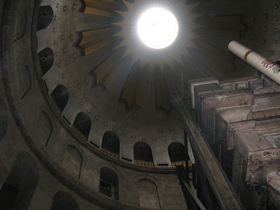 Ceiling of the Chapel of the Holy Sepulchar