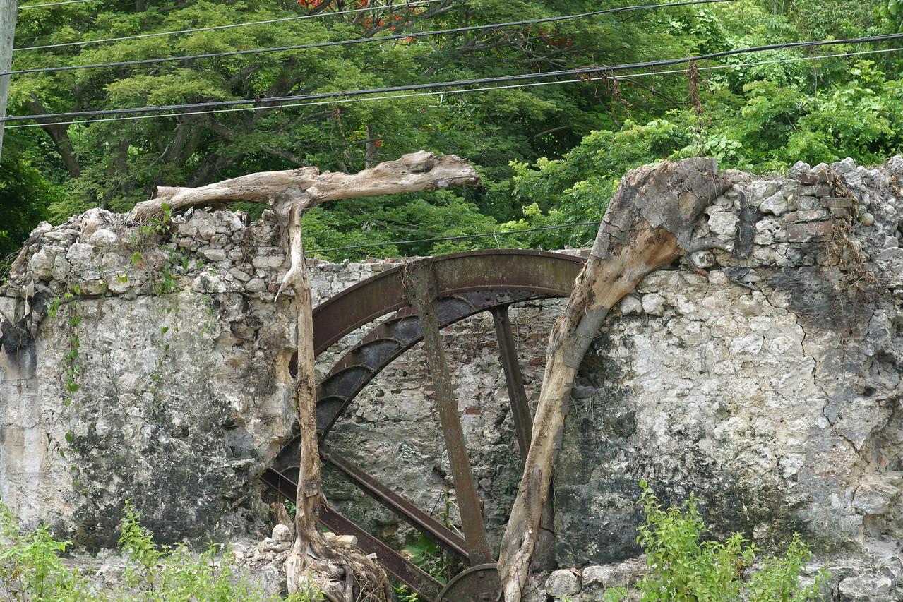 town of Ocho Rios-Roaring River Sugar Mill