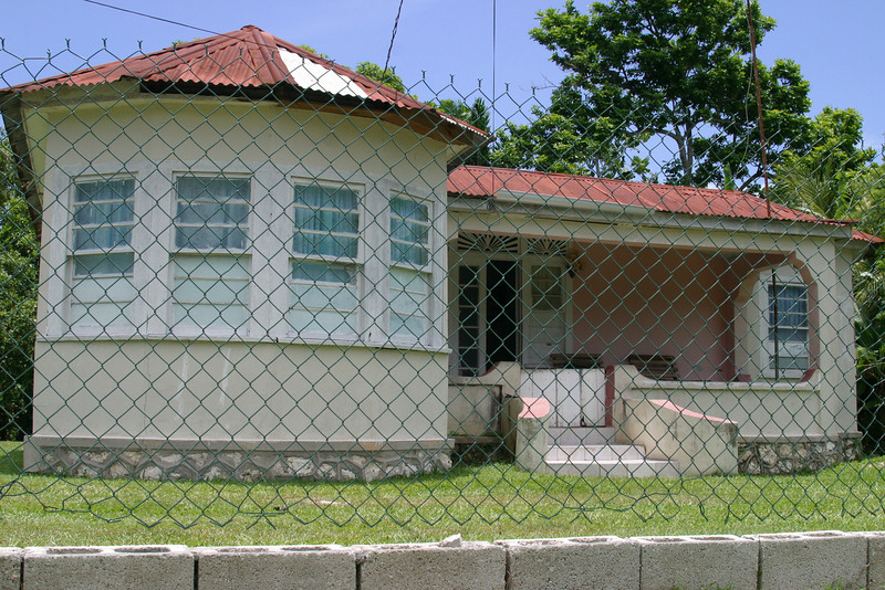 town of Lucea-the house I grew up in