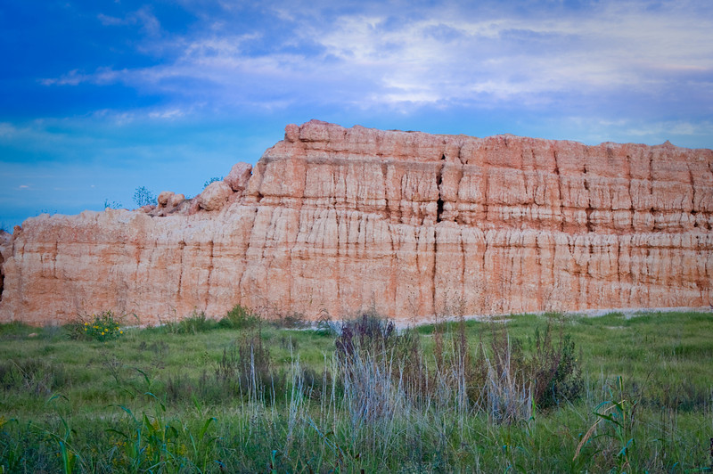 Just as the sun was setting, we found this rock formation in Katy, TX. It was getting darker and darker by the minute so we had to get our shots fast.