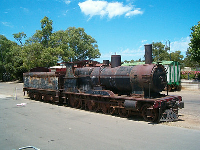 Steam rail was used as transport between the farms and the river docks