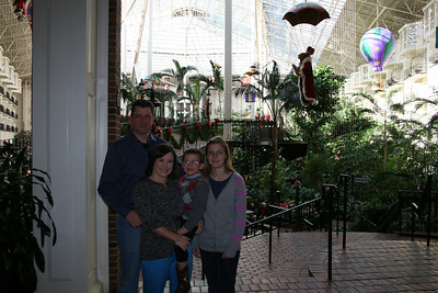Trip to Nashville Gaylord Opryland - Nov 27 2013