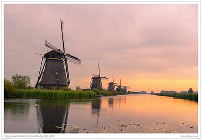 Trip to Netherlands & Cambridge UK