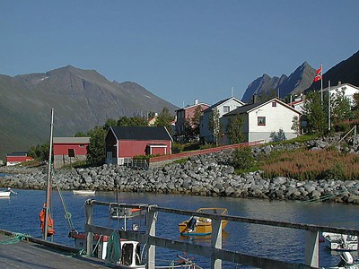 A small fishing village in the far north of Norway. Where the inhabitants are mostly all Spanish speaking.  They settled here in the distant past.
