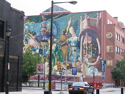 Cool mural on Locust Street