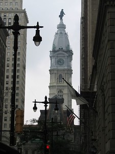 Philadelphia City Hall from (dumb) Broad Street