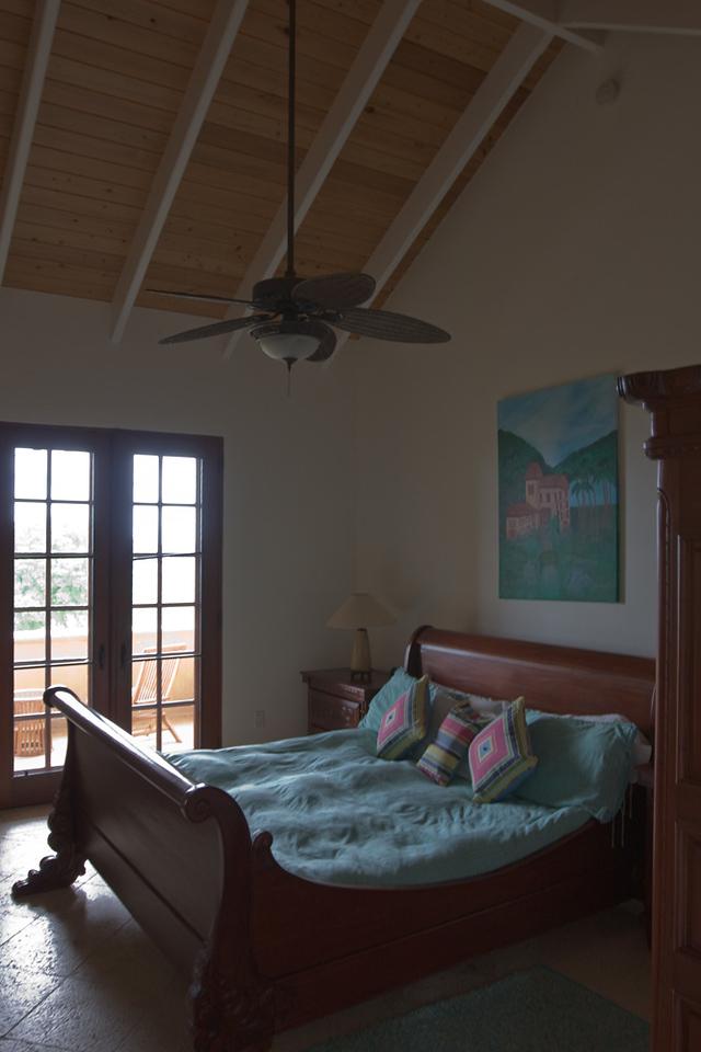One of the beds in Casa de Sonadores.