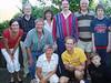 Ulrika, Carsten, Brian, Sue, MIke, Lennart & Mattias.  kneeling--Gunilla, Per and Marcus