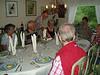 Mike's birthday dinner--L to R=Gunilla, Lennart, Leif, Ewa, Mike, Brian & Carsten