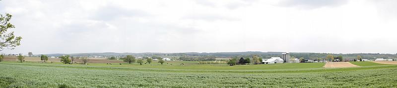 Strasburg PA panorama.