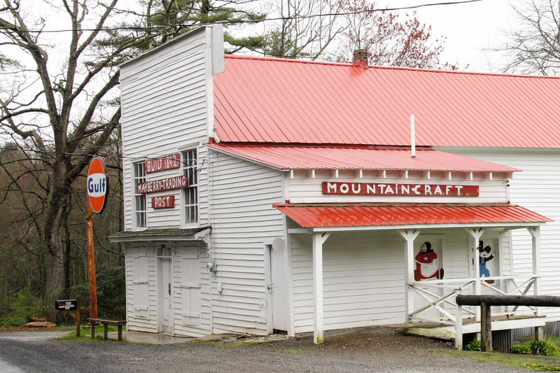 Mayberry Trading Post along the Blue Ridge Parkway.