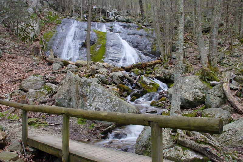 Wigwam Falls along the Blue Ridge Pky.