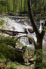 McGalliard Falls and water wheel of Meytre Grist Mill, Valdese, NC.