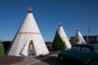 Crystal at the Wigwam Motel