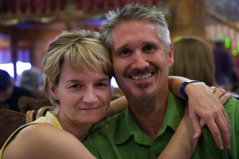 Elizabeth & Dave at the Big Texan
