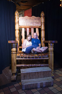 Crystal & Ken at the Big Texan