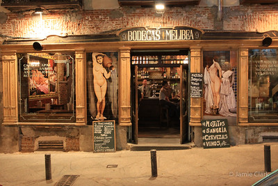 Restaurant Facade, Madrid