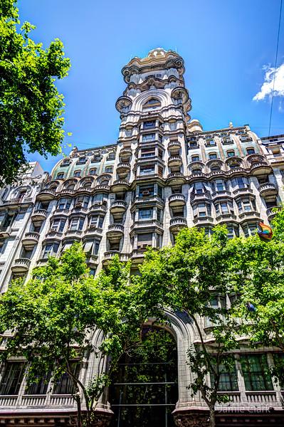 Palacio Barolo.  The building's design is based in Dante's Devine Comedy.