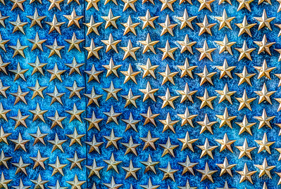 World War II Memorial.  4048 stars, each representing 100 US Soldiers lost in the war.