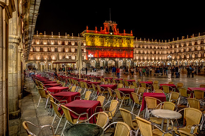 Catalonia Plaza Mayor, Salamanca, Spain October 2015