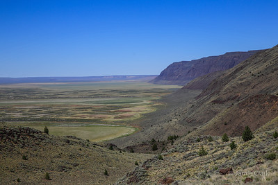 Warner Valley Overlook. Hart Mountain Antelope Refuge, Oregon