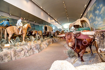 Oregon Trail Interpretive Center. Baker, Oregon