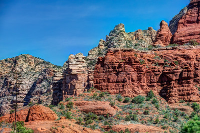 Courthouse Butte Loop Trail. Sedona, Arizona