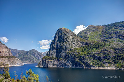Hetch Hetchy Reservoir. Yosemite National Park