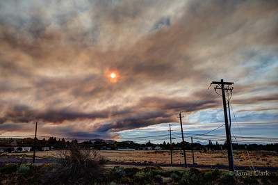 Sisters Fire. Redmond, OR