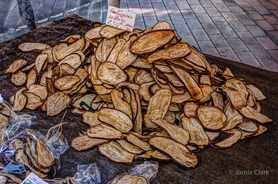 Dried Eggplant @ Nice, France, October 2017