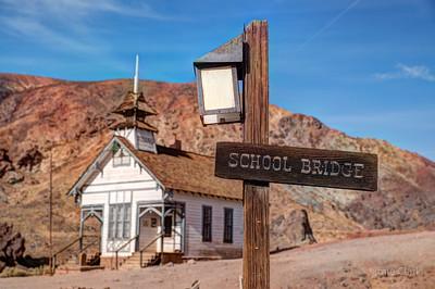 Old School/CHurch @ Ghosttown Calico, California, 2017-12-24
