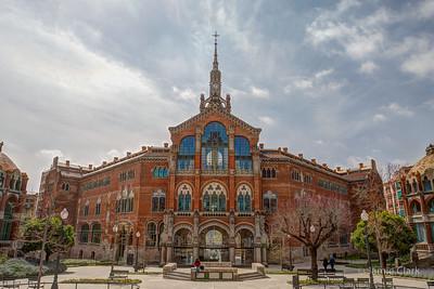Hospital de la Santa Creu i Sant Pau. Barcelona, Spain