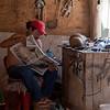 Craftsman taking a break, Puerto Morelos