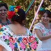 Mayan dance at the Mayan community center, Puerto Morelos