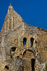 This looks like the church of Battle Abbey but is not - the original church was destroyed. This building is the dormitory and storage rooms for the Abbey.