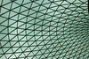 The glass ceiling in the British Museum.