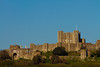 Way up on the hills over Dover, Dover Castle protects southern England.