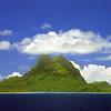 View of Bora Bora with Mount Otemanu. Photo by Christian Wilkinson.