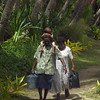 Travel, Pacific Island, People, Familly, Walking, Palm Trees, Shopping