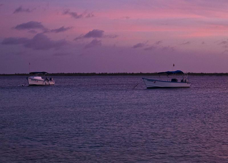 Sunset of Purples, Bonaire