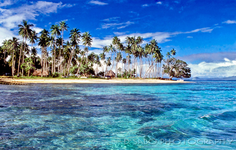 """South Pacific""  Remote island resort in the Fiji Island chain.  Matagi Island"