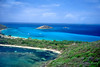 """Canouan aerial""  Aerial view of  Canouan in the southern Grenadines, West Indies"