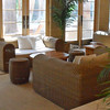 Comfy lounge area at Cafe Nikki