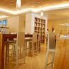 Indoor seating at Cafe Nikki