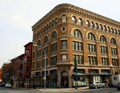 Artistic Shirt Company Building, Troy, NY. 27 Mar 2008.