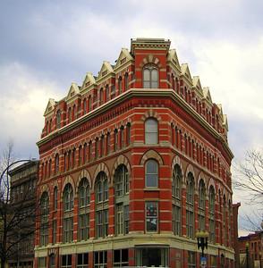 Rice Building (1871), Troy, NY. 26 Mar 2008.