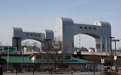 Green Island Bridge, Troy, NY.  25 Mar 2008.