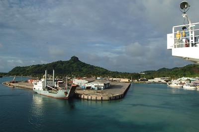 Cargo Ship at Pier