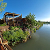 Riverbend Hot Springs & Rio Grande, Truth or Consequences, NM