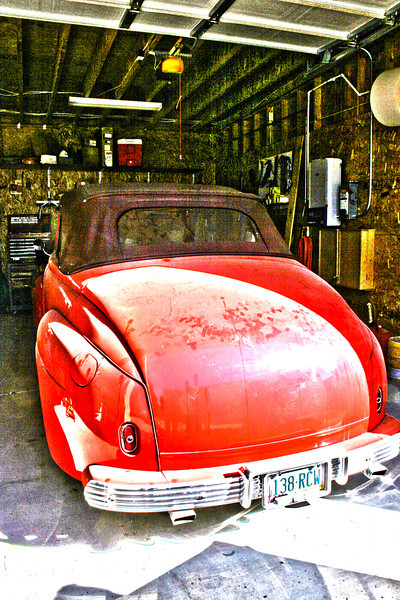Dick Nelson's 1946 Chevy that he is restoring
